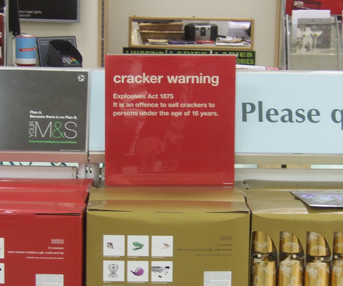 Explosives act 1875 explained by M&S.